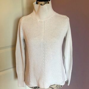 WHBM- high-low high-neck sweater